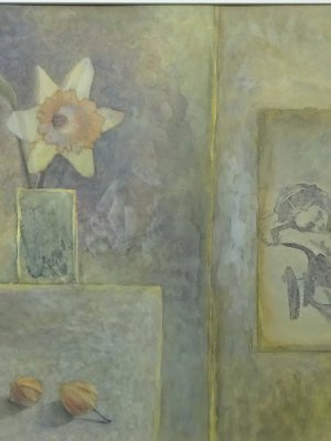 Daffodil dream, Watercolour Still Life