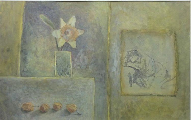 Daffodil dream, Watercolour Still Life