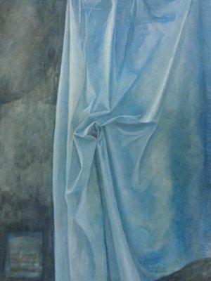 Corner Folds, Watercolour Still Life