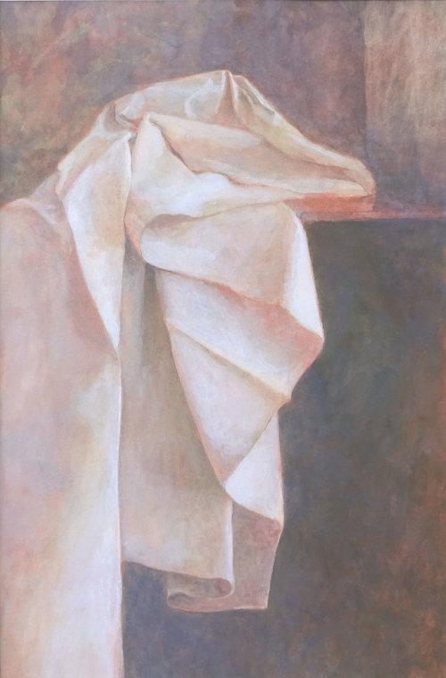 Folds Cascade, Watercolour Still Life