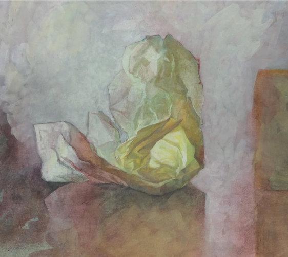 Paper & Box, Watercolour Still Life